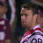 #NRLManlyRoosters 0-10 (18) Maloney makes the conversion and the @SydneyRoosters hit double digits. #WWOS http://t.co/vwnWJRcVL8