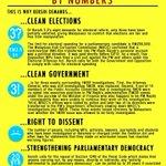 5 tuntutan #Bersih4 - Pilihanraya bersih - Kerajaan bersih - Hak membantah - Selamatkan ekonomi - Kukuhkan demokrasi http://t.co/MA67koGbtv