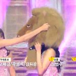 THEY BROUGHT THE LION HEAD ON STAGE FOR ENCORE HAHAHA http://t.co/CHuYDrONlA