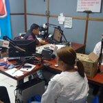 Con la líder Miladys Yanez en el noticiero de Rumba Estéreo invitando a los samarios a la #AsambleaComunera http://t.co/0jviKJnEnX