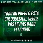 Hoy todos con el verde. #LaGrandezaDeNacional #VamosPorLa15 http://t.co/WnpPsNFxqo