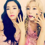 SNSD Tiffany Instagram Update with Taeyeon: #lionheart4thwin 4⃣???????? http://t.co/pByxeyqH9S