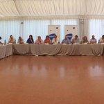 Avui al #PalauMargalef fem reunió de campanya. Treballem per fer arribar a tots les propostes de #laforçadelseny http://t.co/DhoKPkn4Ot