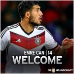Congratulations to Emre Can who has been called up to the Germany Squad. #lfc http://t.co/Bn7ZxyuOej