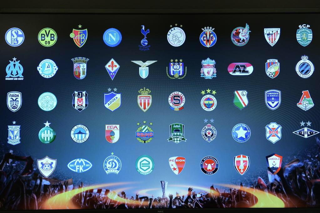 #UELdraw today!! Some big clubs ⚽️🙏🏻 http://t.co/IvFls3Ooft