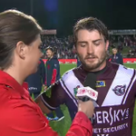 """""""Ive loved playing here but tonight just wasnt our night."""" - Kieran Foran. #NRLManlyRoosters #WWOS http://t.co/rA59Umxu1t"""