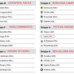 Riepilogo gironi #EuropaLeague con commenti a caldissimo in rosso ahah :)) #Napoli #Fiorentina #Lazio #UELdraw http://t.co/zq3lR6hYET