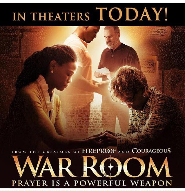 WAR ROOM Movie in Theaters TODAY.  Our daughter Priscilla is the Star. #proudparents @drtonyevans http://t.co/bSStJTzBMo