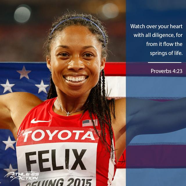 Sprinter @allysonfelix, first woman in history to win world 200m and 400m titles #Beijing2015 @usatf @iaaforg http://t.co/dWWzGEbpeE