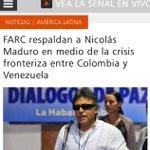 Terrorismo Farc respalda a Maduro en crimen d lesa humanidad contra colombianos @CeDemocratico http://t.co/8aGWmOs48D http://t.co/t34CK5Jeae