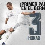 ¡Faltan 3 horas para que dé comienzo el partido frente al Betis en el Bernabéu! ????⚽ #RMLiga #HalaMadrid http://t.co/CQdU3pGN3O