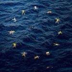 Lunione europea secondo #Banksy: foto choc pubblicata sulla sua pagina facebook. #migranti http://t.co/JwLkpb0ZMT