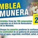 #AsambleaComunera: Mañana en la Plaza de La Catedral con los líderes de Santa Marta firmaré un pacto de cumplimiento. http://t.co/cd0Gw62pO1