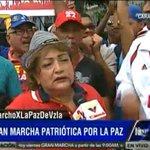 #YoMarchoXLaPazDeVzla | Ciudadana colombiana en Vzla: En Colombia no hay las posibilidades que hay aquí en Venezuela http://t.co/U0343ajV8U