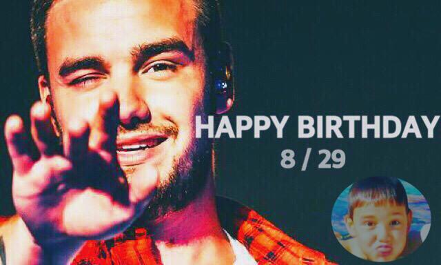 Happy Birthday Liam I\mJapanese Directioner!Wishing you a wonderful birthday.