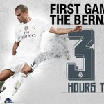 The excitement is building! Just three hours to go before we face Betis at the Bernabéu! ????⚽ #RMLiga #HalaMadrid http://t.co/07eG3Uz7nZ