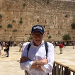 At the incredible and historic Western Wall in Jerusalem where I said a prayer for my family.