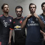 .@ManUtd and @RealMadrid among six clubs to unveil new third kit: http://t.co/HiYsLlt7z0 http://t.co/9ZMntZotUs