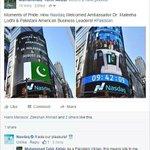 #EconomyOnRise Nasdaq welcomes Pakistan Business Leaders, Proud Moment, Media wouldnt show you this! Via @tahirakbr http://t.co/ra7MAVaLVr