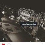 David Beckham on instagram. He belongs to #mufc. #legend http://t.co/FMv6KQPfOK