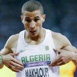 توفيق مخلوفي يتأهل لنهائي 1500م، العقوبة للفوز بالميدالية الذهبية وتشريف #الجزائر #توفيق_مخلوفي #أبطال_الجزائر http://t.co/ebULuZXOrI
