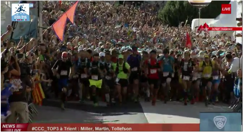 #UTMB 2015 : Ils sont parti ! Let's go! http://t.co/XThh8yQH0a