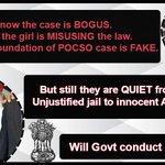 Stop atrocities on Innocents! INNOCENT Asaram Bapu Ji is VICTIM of POCSO Misuse. #BlackDay_31अगस्त http://t.co/u0q6NkF0Eq