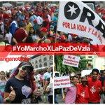 El pueblo venezolano presente en la Mega Marcha por la paz #YoMarchoXLaPazDeVzla @NicolasMaduro @jaarreaza http://t.co/NOQg4osUm2