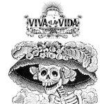 Viva La Vida in #SantaAna celebrating #ElDiadeLosMuertos at the iconic #SantaAna Train Station! http://t.co/MmXAx2CXCz