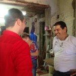 Escuchar a los amigos siempre es agradable, Gracias Rafa López por confiar en nosotros. #RicardoAlcalde http://t.co/4V4bI5iUjn