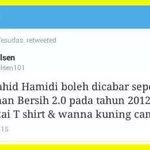 Jangan takut utk Pakai Baju Kuning...#KitaLawan #Bersih4 http://t.co/sYCsyVE3qI