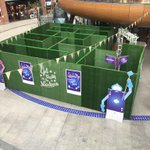 The #AliceInWonderland set up in @Victoria_Square is class! Good to see good use of that space :) #Belfast http://t.co/dj4QcMLYyz