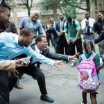 Abt 100 black men cheered children at elementary school in Hartford, CT on their first day back to school Tuesday!! http://t.co/5Tz81YDV7D