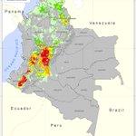 Por #FenómenoElNiño 6´824.981 hectáreas de #Colombia presentan amenza de incendio http://t.co/kS15xPWqIT http://t.co/CdIPI865qX