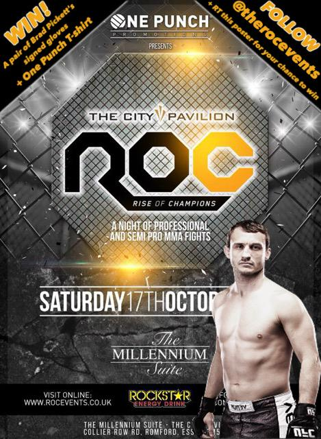 I recently launched my own fight promotion. Help me spread the word & you can win a prize. RT + follow @TheRocEvents http://t.co/QSUu9J39qt