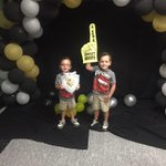 Two of our little knights from our Little Knights preschool cant hide their Knight pride either! @MiamiSup @MDCPS http://t.co/8cphLihdNv