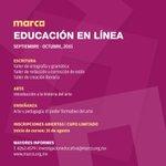 Aún quedan pocos lugares, inscríbete. #museoMARCO #Monterrey http://t.co/Mh3PB01jZW