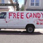 White van with 'Free Candy' painted on side spotted in Sacramento http://t.co/FFUMILzAd5 http://t.co/oVKkTPK1tG