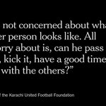A Karachi football (soccer) club looks to the Beautiful Game as the great democratizer. http://t.co/pb2Q3KRQ2H http://t.co/9dKDgdPtYv