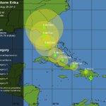 Tropical Storm Erika 2pm update http://t.co/vDDpzSAJy8