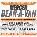 Dont miss the next Mercer Bear-A-Van in Byron (Byron Municipal Complex) on Tuesday, Sep. 1 at 5:30 p.m. http://t.co/fkcywePgCD