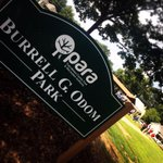 Today @paratuscaloosa dedicated West End Park as Burrell Odom Park, after the late Tuscaloosa city councilor. http://t.co/1t3cI3ZdiK