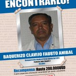 #AyudanosAEncontrarlo, Fausto Anibal Baquerizo Clavijo se extravió en #Quito. Recompensa 200.000 dólares. http://t.co/jE8GdWY3Oe