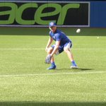 .@RealStamkos91 took the field before todays game for some BP and grounders http://t.co/4t0uE5KvlN