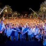 [FOTO] La tenim! 40.000 persones sortim a la foto oficial de la llista més multitudinària dEuropa! #JuntsPelSí http://t.co/Dxi2MoANR7