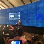 El Centro @BIOS_CO lanzó el #MuroDeVisualización y compartió con los asistentes los avances de esta tecnología http://t.co/ZZGHnokJIr