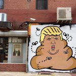 Photo: Hanksy Paints Stunningly Lifelike Portrait Of Donald Trump http://t.co/KtXw0ZKZBD http://t.co/PEGZ9xzbBW