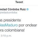Amigos, al leer a esta inmunda cucaracha de @piedadcordoba. No les gustaria aplastarla? Traidora Hijueputa ???????????? http://t.co/mhHuUph4I8