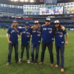 Big thanks to @TheSheepdogs for throwing out tonights first pitch and for their great performance at our Fan Fest! http://t.co/guAQdvRCNZ