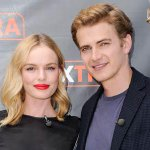 .@katebosworth & Hayden Christensen are busy promoting their new movie together! http://t.co/6WrTrt8hI4 http://t.co/Ob8EooDbh0
